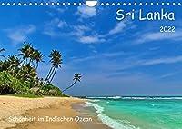 Sri Lanka, Schoenheit im Indischen Ozean (Wandkalender 2022 DIN A4 quer): Sri Lanka, Menschenleeren Straende, gruene Gebirgslandschaften, farbenfrohe Tempel und frei lebende Elefanten (Monatskalender, 14 Seiten )