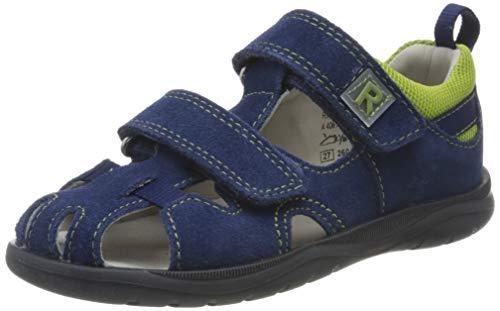 Richter Kinderschuhe Jungen Babel Geschlossene Sandalen, Blau (Nautical/Aloe 6822), 22 EU