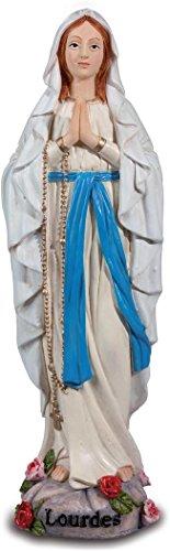 Figura de la Virgen de Lourdes, 20 cm