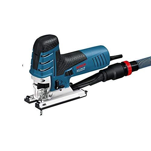 Bosch Professional 0601512000 Seghetto Alternativo GST 150 CE, profondità di Taglio nel Legno: 150 mm, Senza Tubo Flessibile, in Valigetta, 780 W