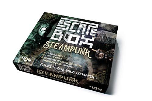 Escape Box Steampunk - Escape game adulte de 3 à 6 joueurs - Dès 14 ans et adulte