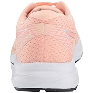 ASICS Women's Gel-Excite 6 Running Shoes, 8M, BAKEDPINK/Silver