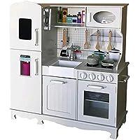 Tachan - Cocina vintage de madera con frigorifico (7791170) , color/modelo surtido
