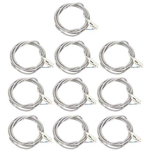 Interruptor magnético de Cilindro de 10 Piezas, Interruptor magnético, Productos de Cilindro TWQ32‑50 MA con Alta frecuencia de Trabajo para ACQ32‑100