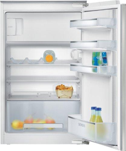 Siemens KI18LV52 iQ100 Einbau-Kühlschrank / A+ / Kühlteil: 112 L / Gefrierteil: 17 L / safetyGlass / Flachschanier