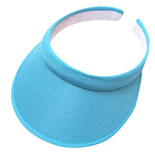 Mujer Hombre Bordado Flor Denim Protección UV Cap Moda Béisbol Gorra Ajustable Topee, azul, Talla única