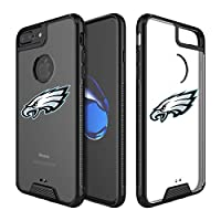"""Eagles Clear Case Compatible with iPhone 6s Plus/6 Plus/7 Plus/8 Plus 5.5"""" Military Grade Drop Protective Cover Premium Hybrid Rugged Bumper Transparent Back Shell Phone Photo Frame for 6s 7 8 Plus"""