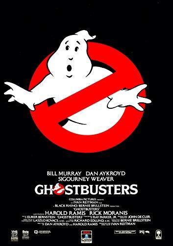 RPW Ghostbusters Vintage V2 A3 Póster de la película 250 g/m² impresión brillante 40 x 30 cm 16 x 12 pulgadas