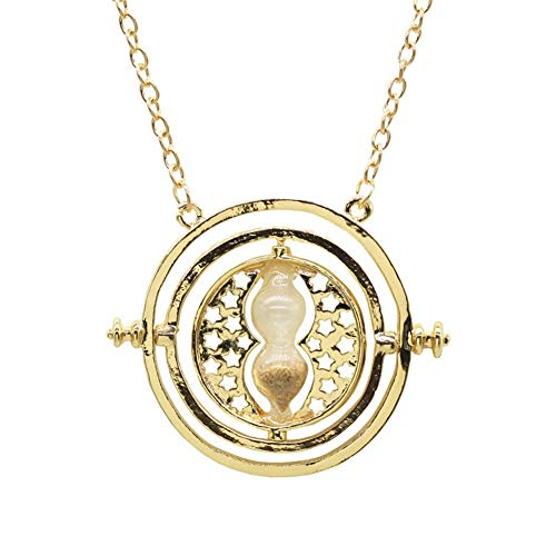 NOBRAND Collar de Reloj de Arena para Hombre Harry Potter Joyas Hombre Distinguido (Color : Earthy coarse Sand)