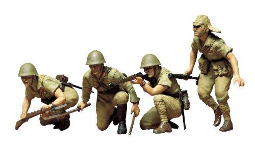 タミヤ 1/35 ミリタリーミニチュアシリーズ No.90 日本陸軍 歩兵セット プラモデル 35090