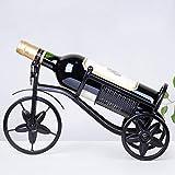 WineRack Europeo Metálico Botellero para Vinos Rústico Estante del Vino...