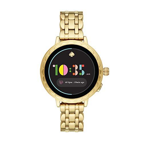 [【タッチスクリーンスマートウォッチ】Scallop KST2014J] スマートウォッチ ケイト・スペード ニューヨーク scallop smartwatch 2 KST2014J レディース ゴールド