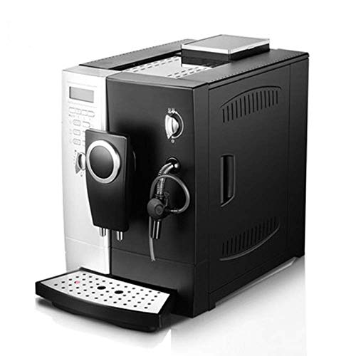 unknow smart coffee machine, home automatic pump-type coffee machine 2-in-1 grinding espresso machine milk foam maker 220v