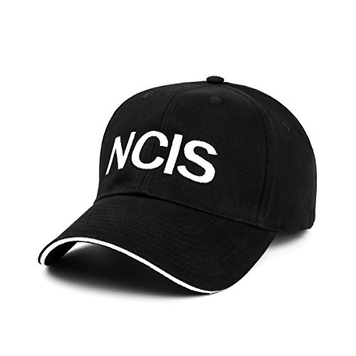 Nofonda Unisex Navy CIS Special Agents Cap Baseball Mütze gesticktes Logo NCIS Snapback Hut Cosplay Kostüm Zubehör für Sport Freizeit