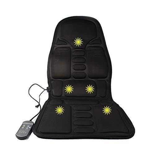 Massagekissen, Motorvibrationsmassage Sitzkissen Mit Wärme - Nacken - Schulter - Rücken- & Oberschenkelmassagegerät Mit Wärme