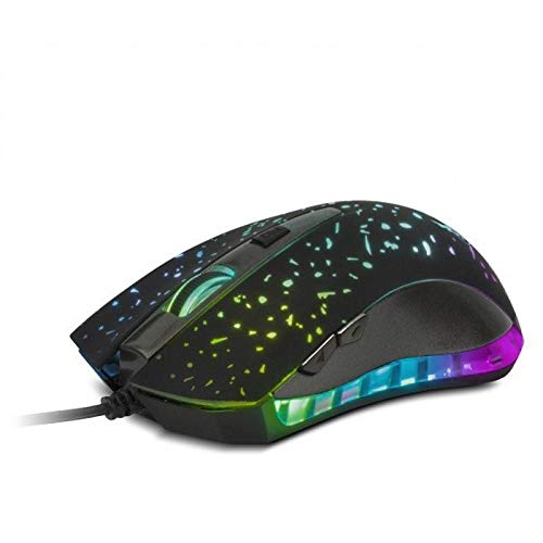Xtech Americas Xtech Wired Gaming Mouse, 3D Optical, 2400DPI, 6 Buttons, LED Lighted with 7 Colors, USB connection