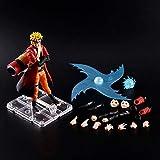Anime Naruto PVC Pop Figura de acción Colección de modelos Rasengan Adornos de decoración de juguete...