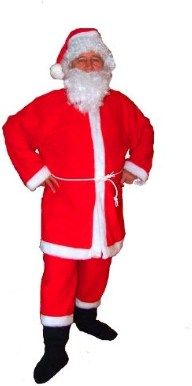Unbekannt Nikolaus Weihnachtsmann Deluxe Mantel + Hose Kostüm Herren XXL- 60 62 B002WJ4J7C Verbraucher zuerst  | Feinbearbeitung