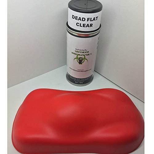 Dead Flat Clear Coat - 6oz Aerosol - Hydro Film Dip Paint - Hydrographics Film -...