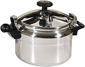 DLC Pressure Cooker with safety valve, 5 Liter Capacity Silver, DLC-PC105