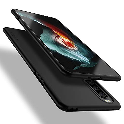 X-level Sony Xperia 10 II Hülle, [Guardian Serie] Soft Flex TPU Hülle Superdünn Handyhülle Silikon Bumper Cover Schutz Tasche Schale Schutzhülle für Sony Xperia 10 II - Schwarz