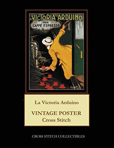 La Victoria Arduino: Vintage Poster Cross Stitch Pattern
