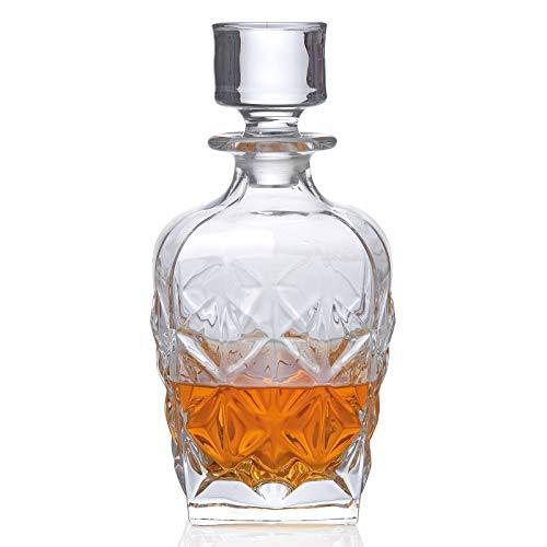RCR Crystal RCR 51529020006 Enigma Luxion - Decanter per whisky, 860 ml