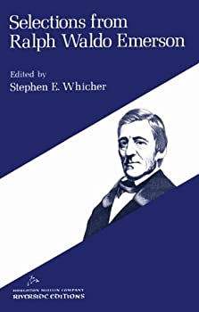 Paperback Selections from Ralph Waldo Emerson : An Organic Anthology Book