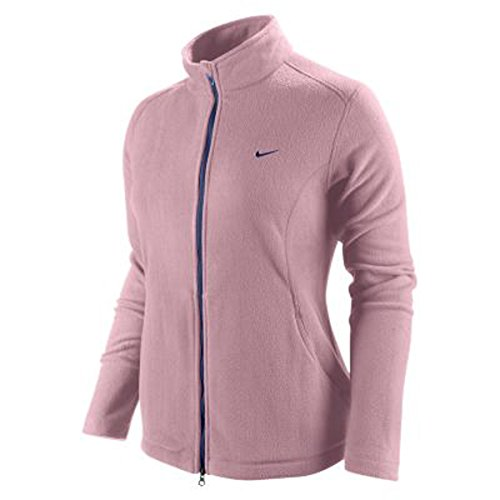 Nike Golf Therma Fit Damen Fleecejacke mit Stehkragen Gr. S rosa