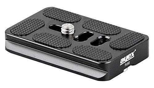 Ayex LPN-D750 Soporte Estable de Aluminio anodizado, para Cambiar Entre Formato Horizontal y Vertical Zapata r/ápida Vertical en Forma de L para Nikon D750 y Arca-Swiss Standard
