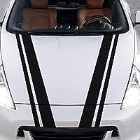 メルセデスの場合、アウディA3 A4 Q7 TTの場合、アルファロメオ159の場合、カーフードカバーステッカーカーアクセサリーデカールカーステッカー