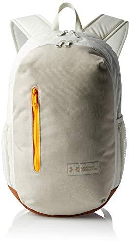 Under Armour UA Roland Backpack Mochila, Unisex, Highland Buff Medium Heather/Summit White/Highland Buff (201), OSFA