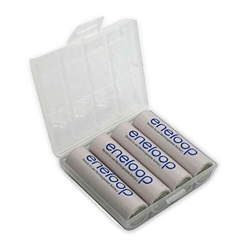 Sanyo 4x Eneloop 1,2V Mignon AA Akkus 2000 + Akkubox