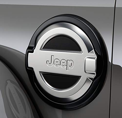 Mopar 82215122 Cast Aluminum Fuel Door Jeep Wrangler