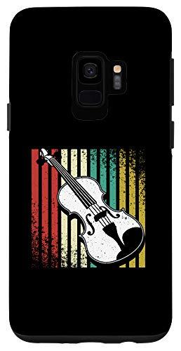 Galaxy S9 Vintage Violin Music Strings Instrument Viola Player Gift Case