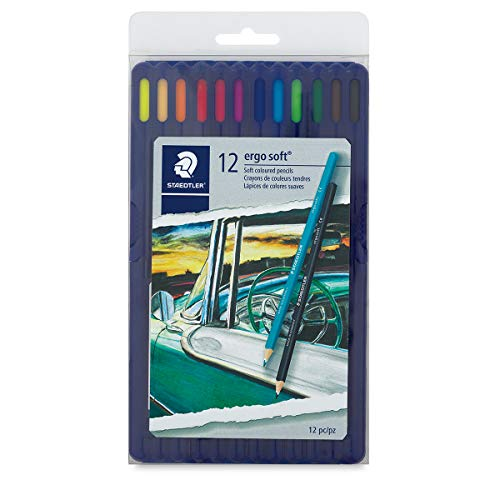 STD156SB12CS - Staedtler Ergosoft Watercolor Pencil Set