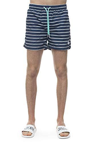 GANT Herren Breton Stripe Swim Shorts C.F Badehose, Blau (Persian Blue 423), X-Large (Herstellergröße: XL)