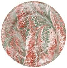 Juliska Ruby Multi Firenze Noel Dessert Salad Plate