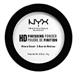 NYX Professional Makeup High Definition Finishing Powder Polvere Compatta, Finish Matte, Riduce le Zone Lucide, Tonalità Translucent