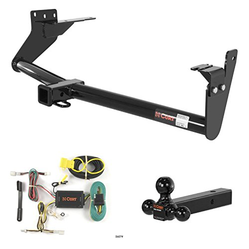 Great Deal! CURT Trailer Hitch, Wiring & Multi-Ball Ball Mount for Infiniti FX35, FX37, FX50