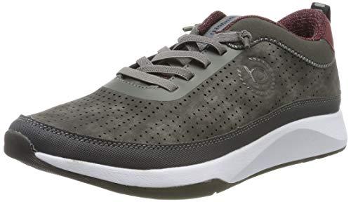 bugatti Herren 322628055900 Sneaker, Grau, 44 EU
