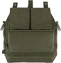 KRYDEX Tactical Pouch Zip-On Panel for CPC AVS JPC 2.0 (Ranger Green)