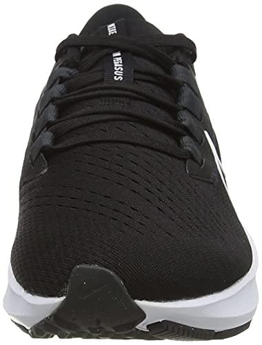 Nike Air Zoom Pegasus 38, Zapatillas para Correr Hombre, Black/White-Anthracite-Volt, 40 EU