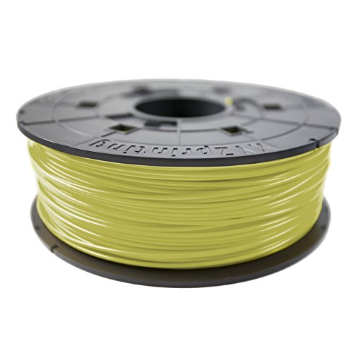 XYZprinting 1.75 mm ABS Refill Filament - Cyber Yellow