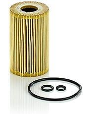 Original MANN-FILTER Filtro de aceite HU 7008 Z – Set de filtro de aceite juego de juntas – Para automóviles