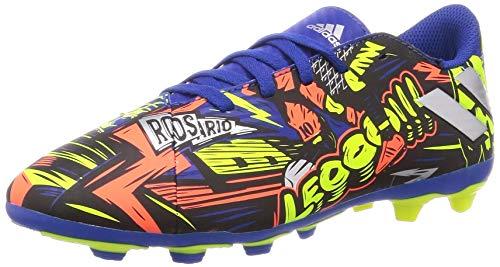 adidas Nemeziz Messi 19.4 FxG J, Zapatillas de fútbol Unisex niños, AZUREA/Plamet/Amasol, 36 EU