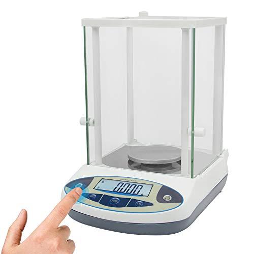 CGOLDENWALL Báscula de Laboratorio de alta Precisión 500g,0,001g Balanza Digital Electrónica Balanza de Joyería 1mg Balanza Analítica para Laboratorio Escuela de Farmacia