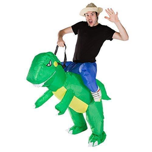 Bodysocks® Aufblasbares Dinosaurier Kostüm für Erwachsene