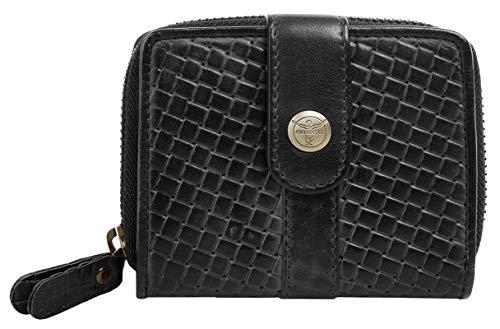 Chiemsee Geldbörse Echt Leder schwarz Damen - 020475