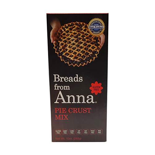 Breads From Anna, Mix Pie Crust Gluten/Yeast/Corn/Dairy Free, 10 Ounce